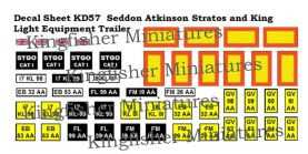 Seddon Atkinson Stratos & King Trailer